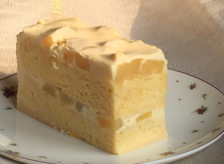 The Vanilla-caramel Pear and Caramel Mousse Dessert Cake
